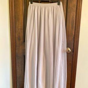 H&M premium collection maxi skirt